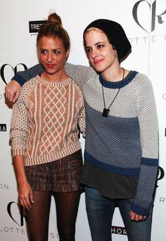 Twins Charlotte and Samantha Ronson