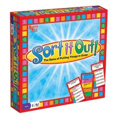 Sort It Out Board Game