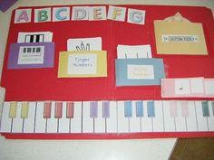Piano Lapbook