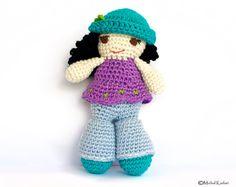 Crochet Amigurumi Doll Pattern by Amichy on Etsy, $5.00