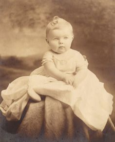 My mom when she was a toddler