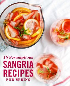 18 Sangria Recipes from White Sangria to Red - Cosmopolitan