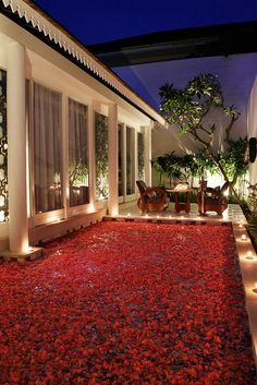 Valentine Pool of Flowers  Astana Batubelig Suite Villa by Astana Hospitality Management, via Flickr