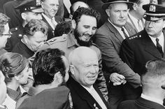 The Cuban Missile Crisis: Castro with Khrushchev, 1962