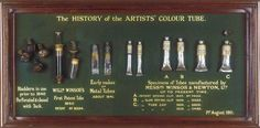 artist's paint tubes - a history