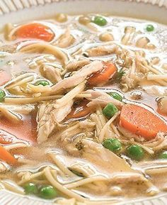 A chicken noodle soup recipe that's perfect for grown ups!