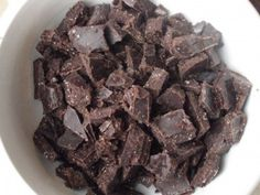Homemade chocolate, peppermint chocolate or carob chips.