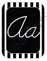 Totally TEAMwork Cursive Alphabet Letters product from Schoolgirl-Style on TeachersNotebook.com