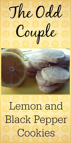 Lemon and black pepper ... in a cookie? You definitely want to try this recipe.
