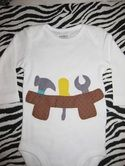 For babies...:-) Adorable onesies!