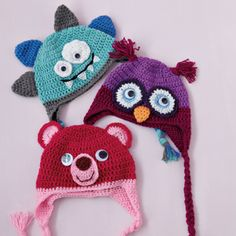 Cute Beanies Pattern (sized for 2-4 year olds) @Hannah Bae - trying to learn hatmaking!!