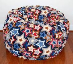 Check out our latest bean bag chair! SUPER STAR! We only have a few in stock!  http://www.ahhprods.com/bean-bag-chairs/super-star-fleece/  #ahhprods #beanbagchairs