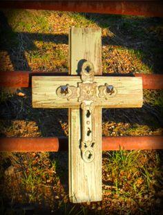 barn board cross