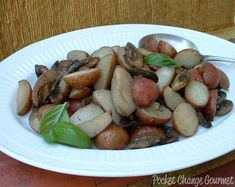 Grilled Potatoes and