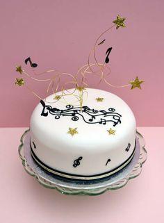 cake idea, themed cakes, music cake, suzi cake
