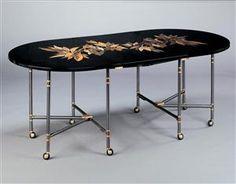 maison jansen dining table