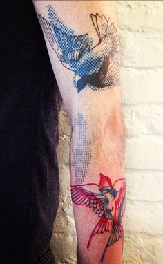 bird, beauti tattoo, arm tattoos, madam chän, aka tattoo