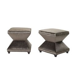 Serge Ottoman from the Atelier collection by Hickory Chair Furniture Co.