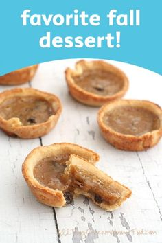 Low Carb Butter Tarts are an easy and healthy dessert idea for the whole family to love! | fall dessert recipe