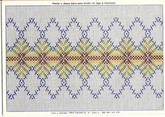 swedish weav, embroidery patterns, bordado yugoslavo, punto yugoslavo, huck embroideri