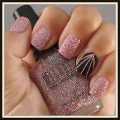 Sparkle is a girl's best friend!! #nails #beauty #PromPlace