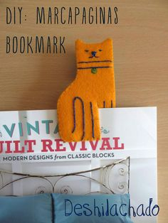Deshilachado: Tutorial Día del Libro: marcapáginas / Book Day tutorial: bookmark