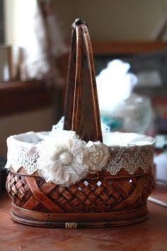 vintage flower girls, flower girl basket vintage, flower girl baskets diy, vintag flower, vintage flowers