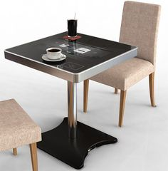 Korean company to showcase a multitouch cafe table in this year's CES