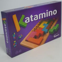 Katamino is an ever-changing puzzle and is a stimulating brain teaser. Some call it a puzzle, some a brain game. Guess that's the same thing. #puzzles #braingames #ck