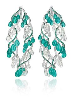 Paraiba earrings, Chopard, 2013