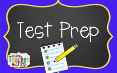 Resources to help with preparing for standardized tests!