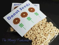This is cute for spring... Preschool snack