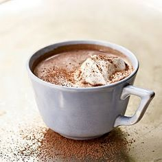 rich hot chocolate... yummmmmm