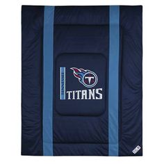 Sports Coverage 01JSCOM1TITTWIN Tennessee Titans Sidelines Twin Comforter