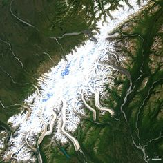 Seven Awesome Shots Of US National Parks From Space