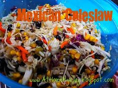 At Home My Way: Mexican Slaw