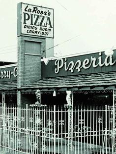 The original LaRosa's on Boudinot Avenue in Cincinnati 1960's