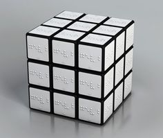 Rubik's Cube for the visually-impaired