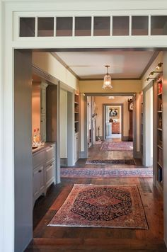 country houses, hallway