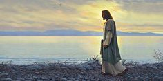 "My favorite Jesus painting: ""Walk With Me"" by Greg Olson."