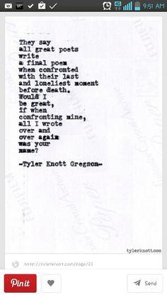 Great poets..