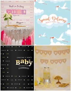 Planning a Baby Show