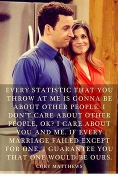 I miss Boy Meets World :'(  EXCITED FOR GIRL MEETS WORLD!