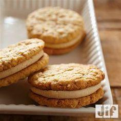 Chewy #PeanutButter Oatmeal Sandwich #Cookies from Jif®