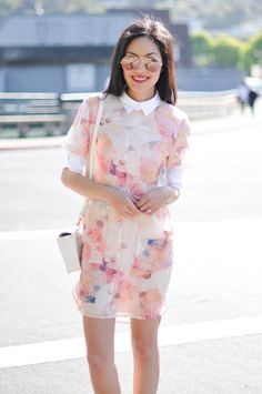 Florals // They are a summertime staple, and with options ranging from super subtle to bright and bold, they're incredibly easy to work into your office attire. To err on the more conservative side, keep the rest of your outfit relatively neutral.