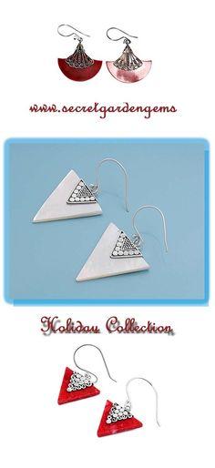 Secret Garden Gems #Holiday #Earrings #Sylink