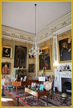 Castle Howard interior .