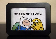 Cross Stitch Patterns  Adventure Time