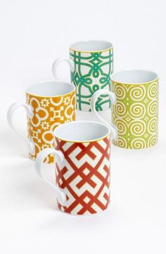 Add some color to your kitchen with these mugs!