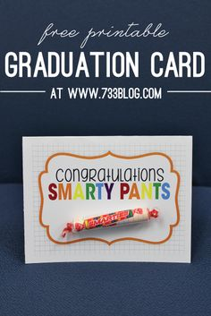 seven thirty three - - - a creative blog: Smarty Pants Graduation Card